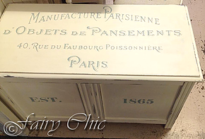 Shabby Chic French Blanket Box and Sideboard – Reader Feature