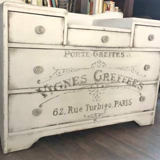 Vintage Graphic Dresser – Reader Feature