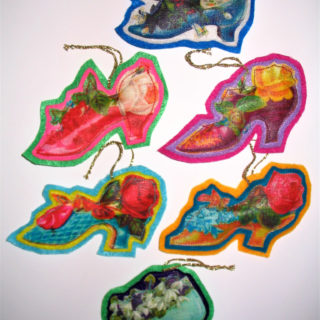 Shoe Christmas Ornaments – Reader Feature