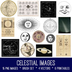 Celestial Images Kit! Graphics Fairy Premium