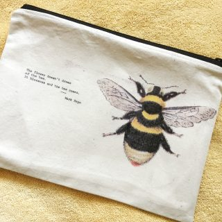 Bee Zip Pouch – Reader Feature