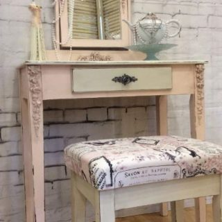 Pink Corset Vanity Table – Reader Feature