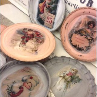 Christmas Platters and Mini Sleighs – Reader Feature