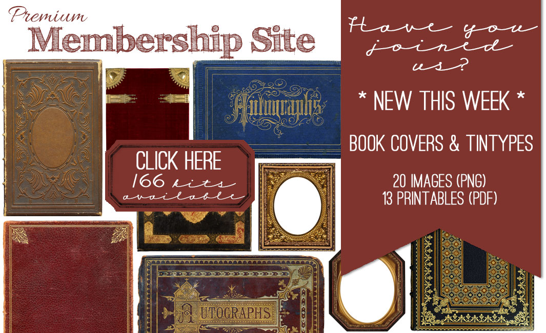 Book Cover Graphism Kits : Book covers and tintypes images kit graphics fairy