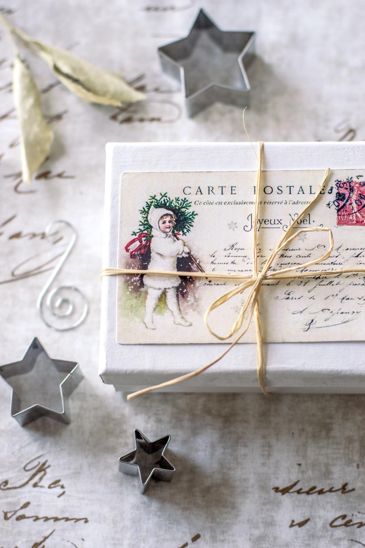 Vintage French Christmas Postcards Amp Free Printable