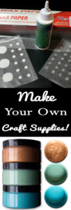 Make Your Own Mixed Media Craft Supplies