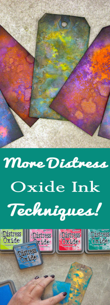 More Distress Oxide Ink Techniques