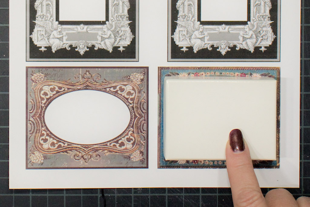 Mini Shadow Box Frames - Free Printables! - The Graphics Fairy