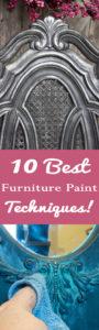 10 Best Furniture Painting Techniques