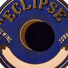 Old Eclipse Chewing Tobacco Label Image!