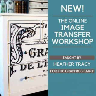 The Online Image Transfer Workshop is Open Now!