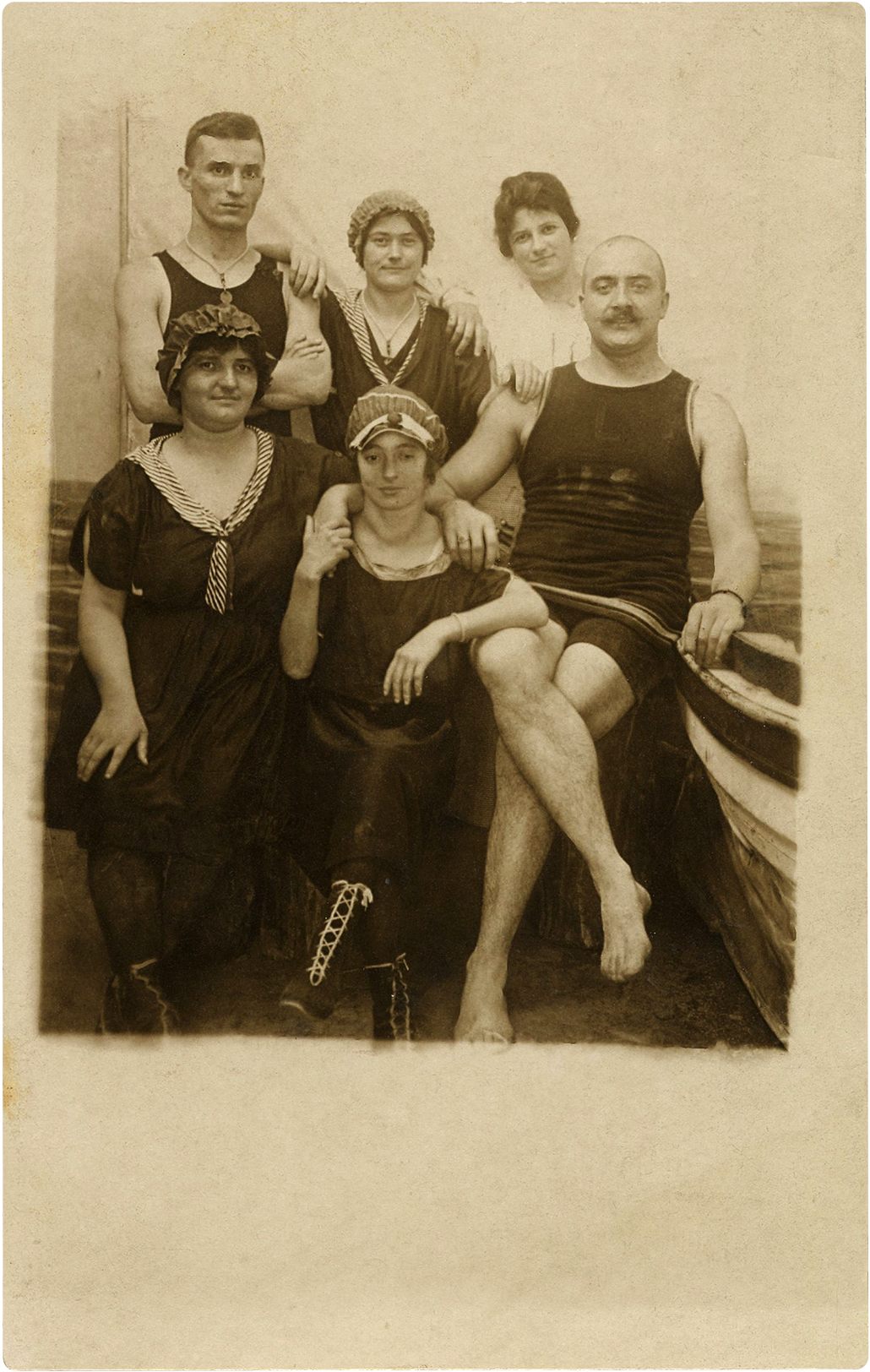 Nostalgic Victorian Swimming Costumes Photo