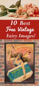 Best Free Vintage Fairy Images
