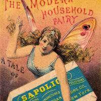 Fairy Advertising card for Soap