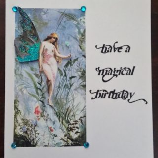 Magical Fairy Birthday Card – Reader Feature