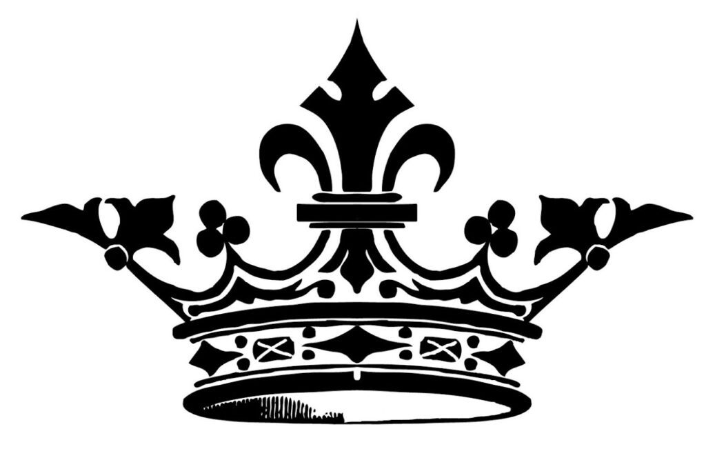 Crown Silhouette Image