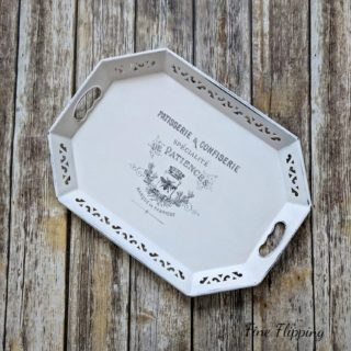 Upcycled Metal Tray – Reader Feature