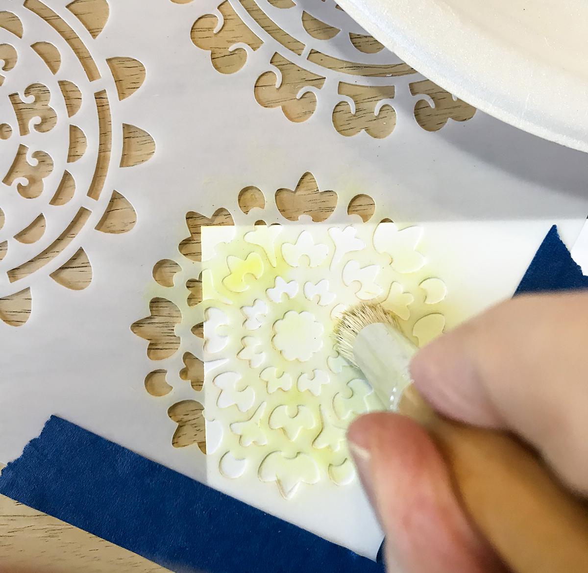 Stencil a Card