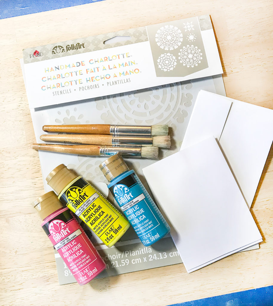 Make Quick Stenciled Greeting Cards! - The Graphics Fairy