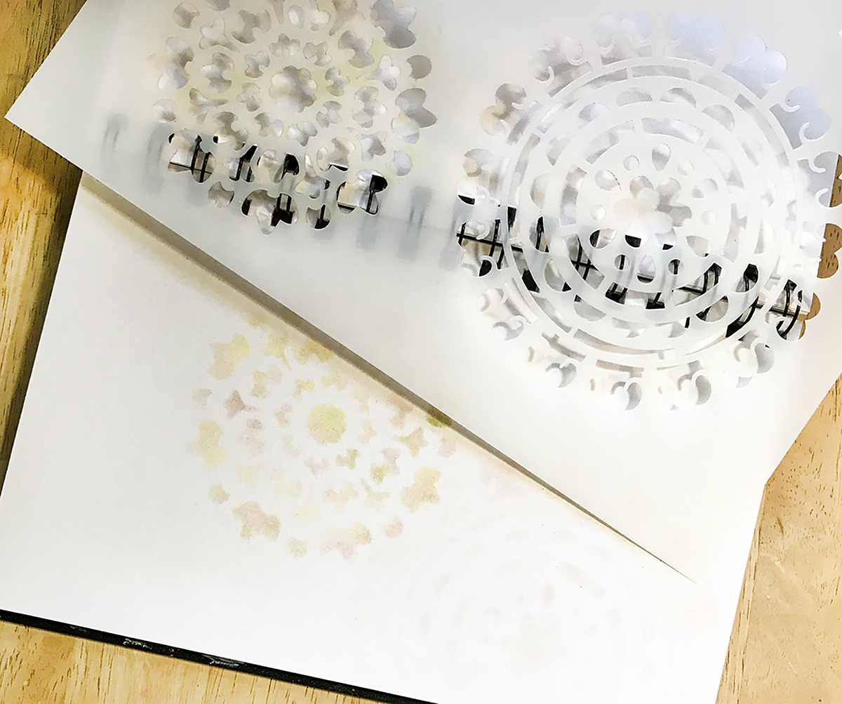 Make Quick Stenciled Greeting Cards The Graphics Fairy