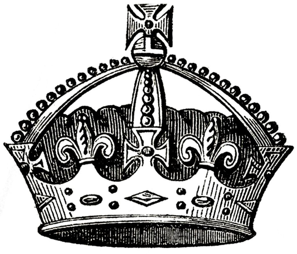 Vintage Crown Clipart Image