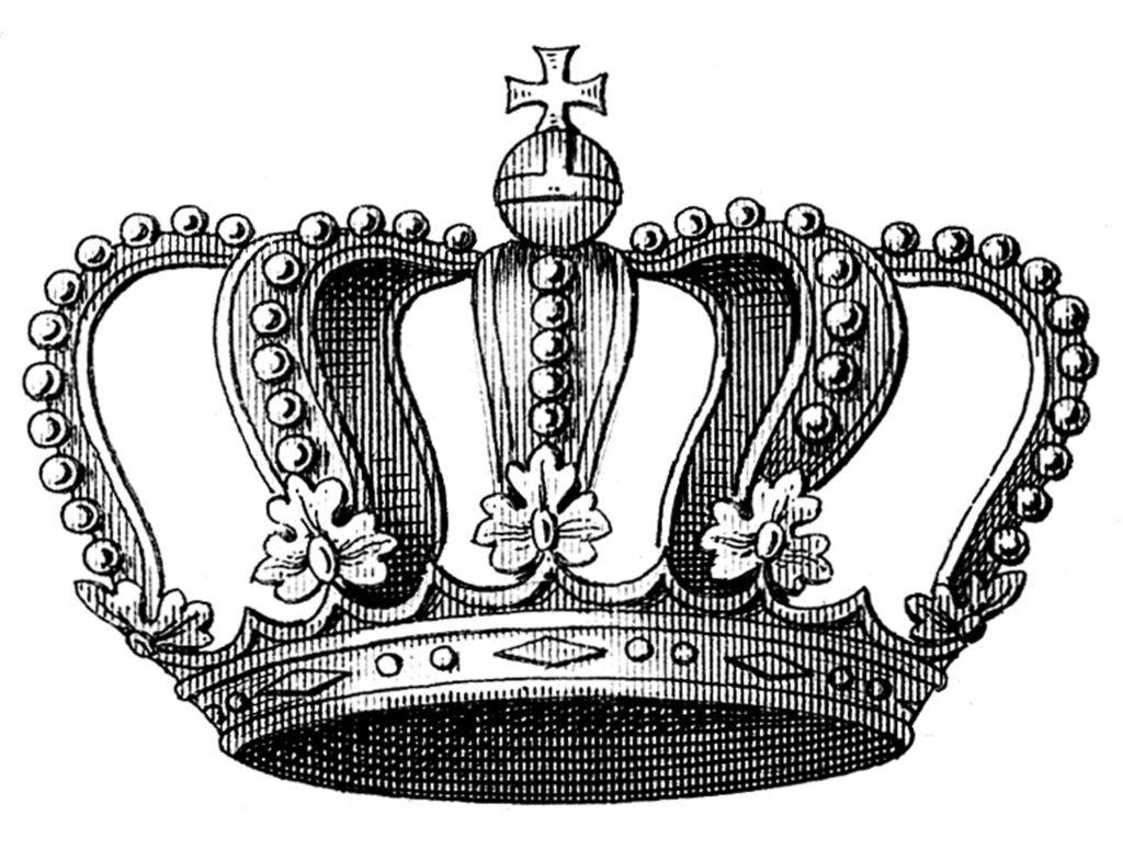 Vintage Crown Clipart
