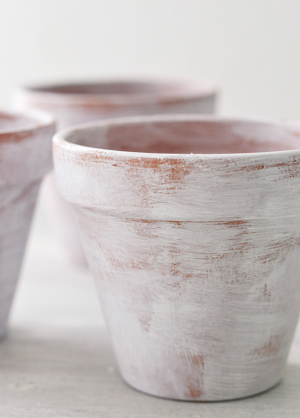 DIY Aged French Pots
