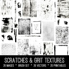 Scratches & Grit Textures Images Kit! Graphics Fairy Premium Membership