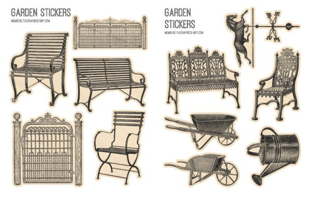 Garden Stickers