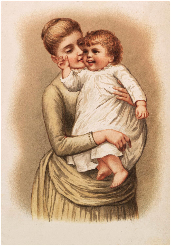 Картинки надписями, винтаж для мамы открытки