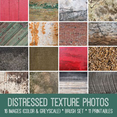 Distressed Texture Photos Image Kit! Graphics Fairy Premium Memberhsip