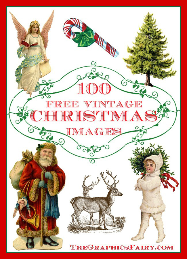 100 free Christmas Images GraphicsFairy