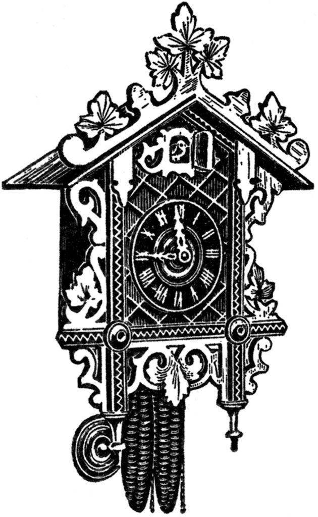 Clip Art Cuckoo Clock Image