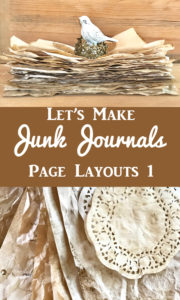 Junk Journals Page Layout 1