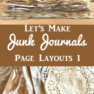 Junk Journals Page Layout 1