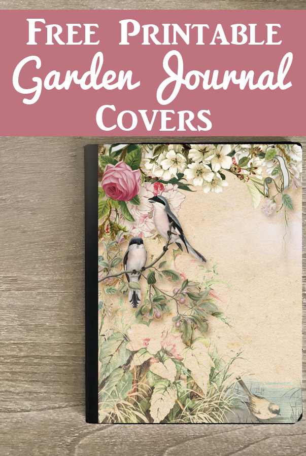 picture about Printable Garden Journal referred to as Appealing Absolutely free Printable Magazine Addresses with Back garden Concept