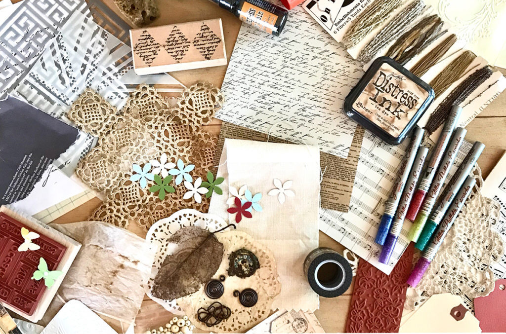 Junk Journal Supplies
