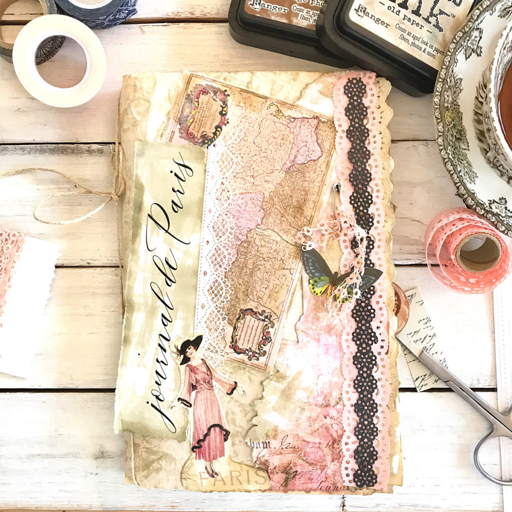 How to Make a Junk Journal – Page Layouts 2! - The Graphics Fairy