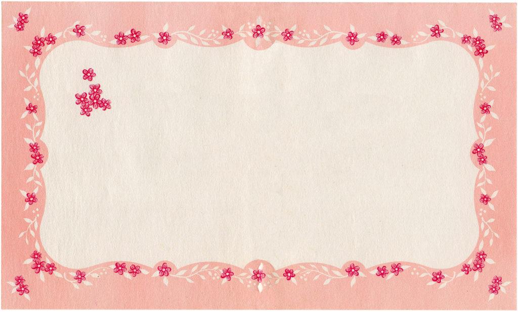 Pink Floral Graphics Set