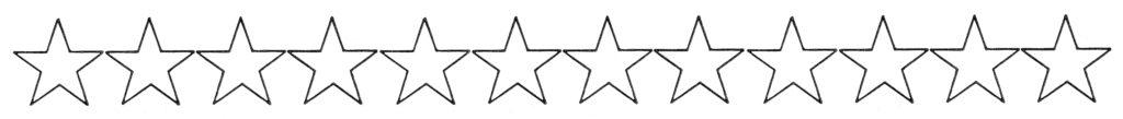 Clipart Stars Outline Border