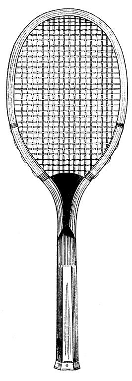 Free Tennis Rack Clip Art