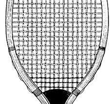 Free Tennis Racket Clip Art