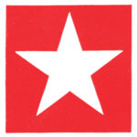 Red and White Star Image