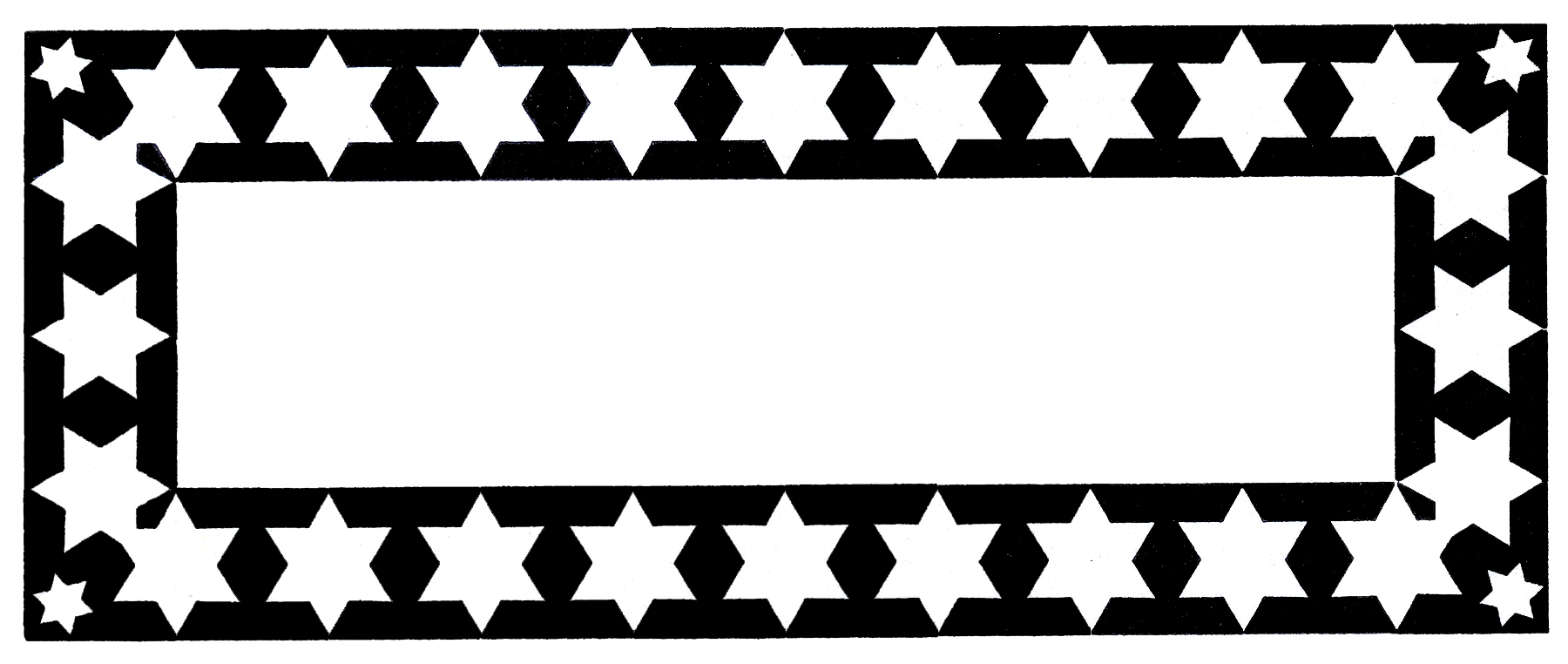 Black and White Starry Star - Free Clip Art   Star clipart, Free clip art,  Silhouette art