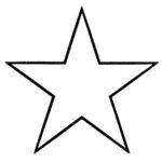 Stars Outline Clip Art