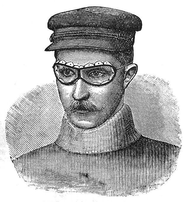 Steampunk Man Image with Goggles and Cap