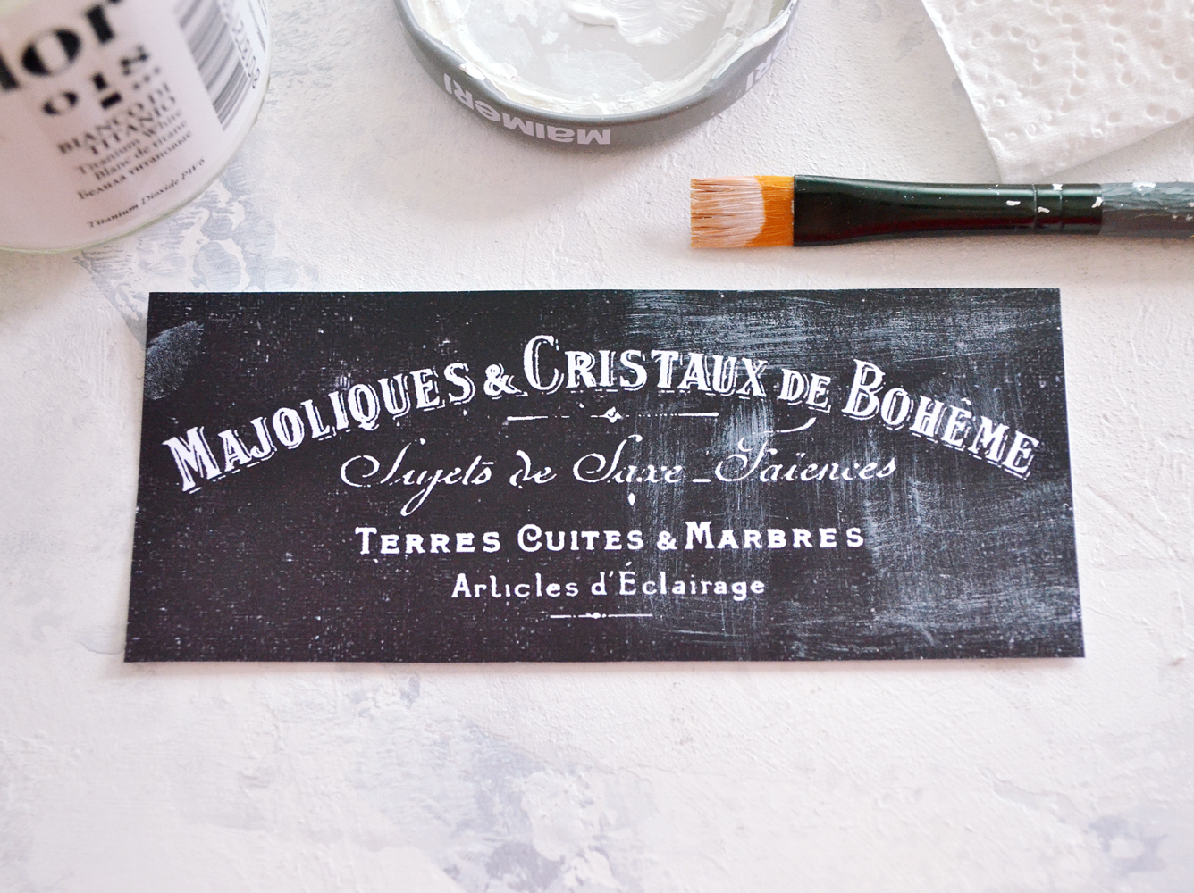picture regarding Printable Chalkboard Labels called French Printable Chalkboard Labels or Tags - Free of charge!