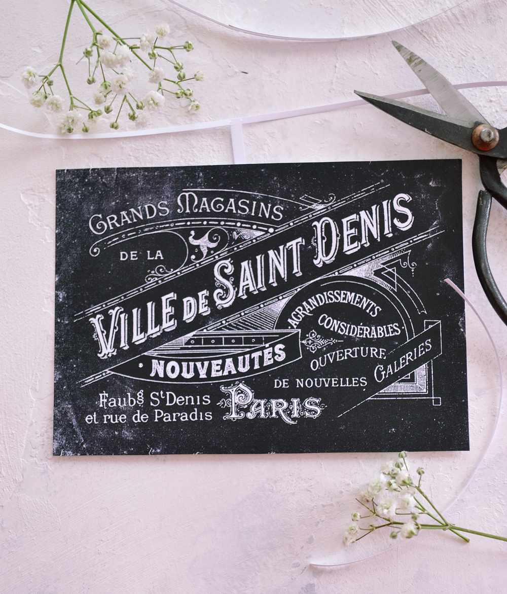image relating to Free Printable Chalkboard Labels known as French Printable Chalkboard Labels or Tags - Absolutely free!