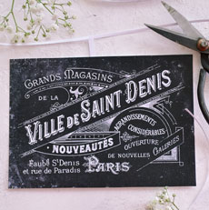 French Printable Chalkboard Labels or Tags – Free!