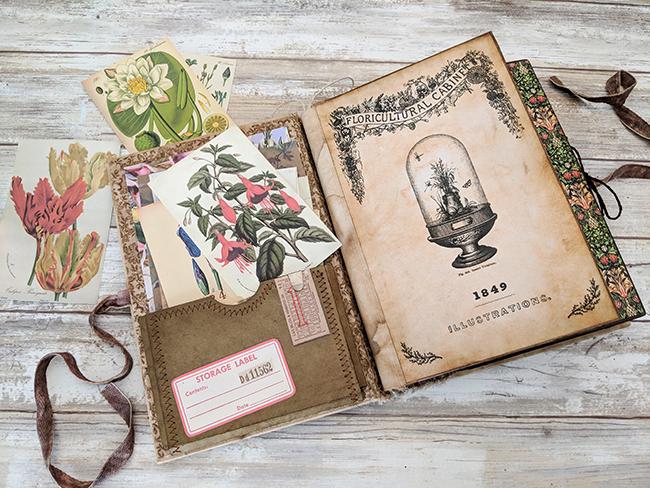 Junk Journal Pocket Nik the Booksmith